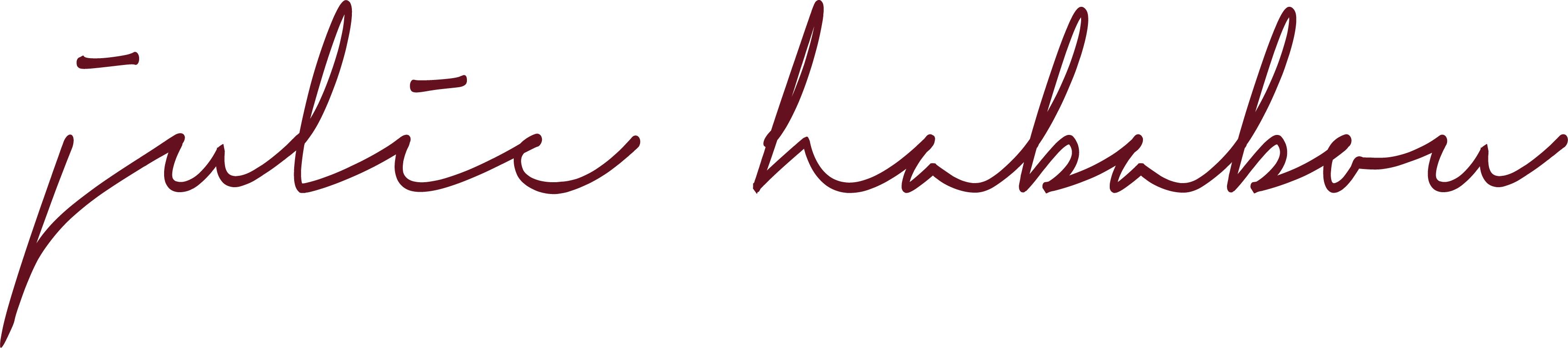 Signature Julie Hababou avocat à la cour